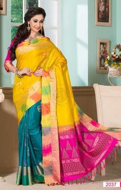 Vipanji Soft Silk Saree VSS 2037