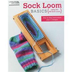 Martha Stewart Sock Loom | ... & Needle Art | Looms & Knitters | Loom Books | Sock Loom Basics Book