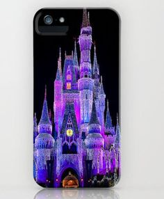 Disney iPhone case-she would think that the photography was so pretty and it would make her feel like she was at Disney World.