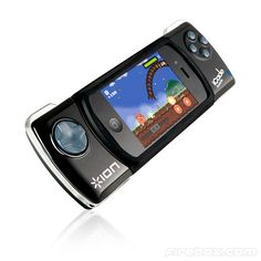 With iCade Mobile. This nifty Bluetooth gizmo turns your iPhone or iPod Touch into the ultimate handheld games console.
