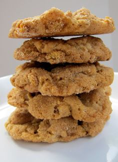 Cinnamon Oat Snickerdoodle Cookies - snickerdoodle cookies with crunchy oat cereal added in