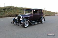 1928 Ford Model A Tudor 2 Door Sedan 5 Passenger