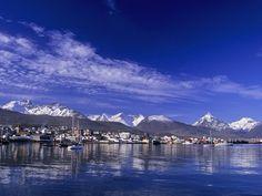 Ushuaia Harbour, Tierra Del Fuego, Argentina