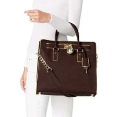 Michael Kors Handbag, Hamilton Specchio Large North South Tote, Coffee http://www.dinkumwomen.com/#!promotion-coach-handbags-store/ck5x