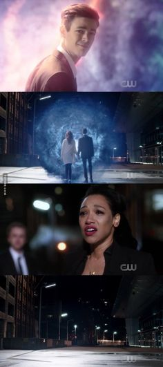 """#TheFlash 3x23 """"Finish Line"""" And even when he was trying to save Iris, Barry knew that by taking Jay out of the speed force, someone would have to take his place."""