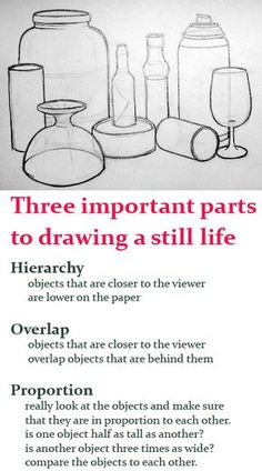 HOP in drawing a still life. lesson plan for bottle drawings. elementary art education how to draw still lifes