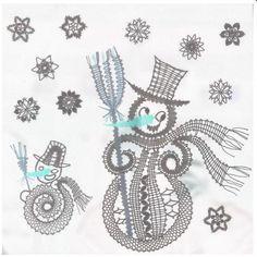 Lace Art, Bobbin Lace Patterns, Parchment Craft, Needle Lace, Lace Making, Lace Design, Winter Time, Christmas Themes, Crochet