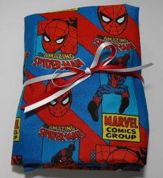 Spiderman Marvel Comics Fitted Toddler Sheet or Crib by KidsSheets, $26.00