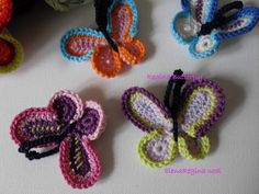 ElenaRegina wool: Regina Butterfly -- tutorial farfalla ---
