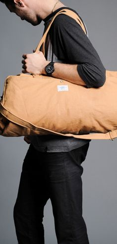 Buy this Duffle bag at http://www.sevenly.org/product/515dcbb4fe68d13571000027?cid=ShrPinterestProductDetail