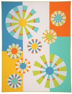 Nancy Zieman of Sewing With Nancy details how to sew a modern quilt, updating a traditional Dresden Quilt desing.
