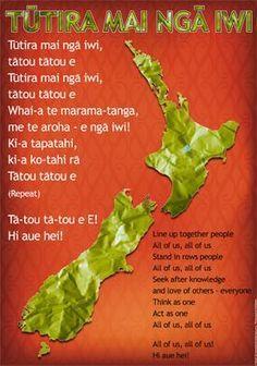 "Maori Resources – Tagged ""Te Reo"" – Page 4 Childhood Education, Kids Education, Maori Songs, Treaty Of Waitangi, Waitangi Day, Maori Symbols, Free Lyrics, Maori Patterns, Cross Tattoos"