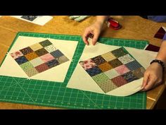 Quilting Quickly: Checkerboard Shuffle - Bed-Size Quilt - YouTube