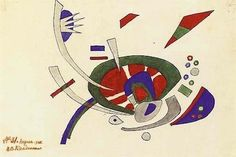 Wassily Kandinsky: Ohne Titel, 1920