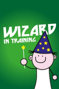 Wizard in Training - Made by Andrew Till Funny Phone Wallpaper, Funny Wallpapers, Phones, Snoopy, Training, Fictional Characters, Art, Art Background, Telephone