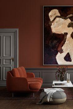 Lune Sofa by Fritz Hansen