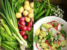 Delicious blog: Jarní bramborový salát s tofu žervé Tofu, Celery, Vegetables, Blog, Vegetable Recipes, Blogging, Veggies