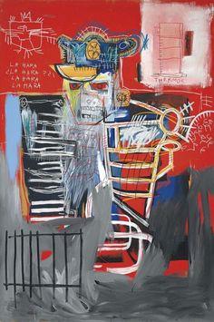 La Hara (1981) by Jean-Michel Basquiat | issyparis
