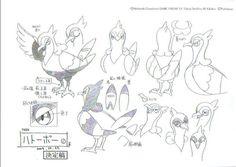 Model sheet_pokémon
