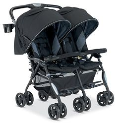 Combi Twin Cosmo Stroller, Black