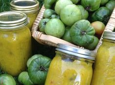 My Grandmother's Green Tomato Mustard Relish Green Tomato Relish, Green Tomatoes, Relish Recipes, Canning Recipes, Mustard Relish Recipe, Tomato Side Dishes, My Grandmother, Grandmothers, Peppers And Onions