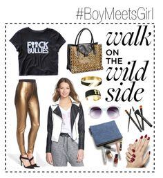 """Wiiiiild Side "" by boymeetsgirlusa ❤ liked on Polyvore featuring Boy Meets Girl, Loeffler Randall, Lyssé Leggings, Tildon, women's clothing, women, female, woman, misses and juniors"