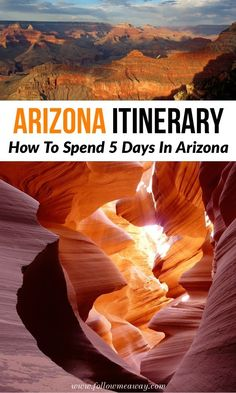 The Ultimate 5 Day Arizona Road Trip Itinerary - Follow Me Away Arizona Road Trip, Arizona Travel, Visit Arizona, Travel With Kids, Family Travel, Trip Planning, Travel Inspiration, Family Trips, Family Vacations
