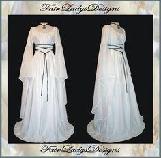 Medieval Dress for Bride