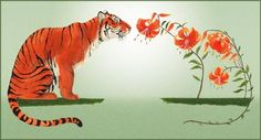 I always thought the tiger (lily's) on the right would make a great tattoo.