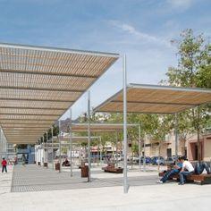 Pergola Havana Benicassim Urban Furniture, Street Furniture, Landscaping Equipment, Pergola, Urban Concept, Marina Resort, Urban Design Plan, Weston Super Mare, Public Realm