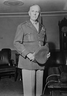 General George C. Marshall, Chief of Staff of the U.S. Armed Forces during World War 2, 1944.