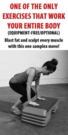 Blast fat and sculpt every muscle with this one complex move!  fitness   workout 4bbc3e6ebf7