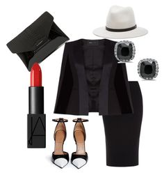 A Splash of Class by kghayes on Polyvore featuring BCBGMAXAZRIA, Roland Mouret, Givenchy, rag & bone and NARS Cosmetics