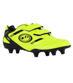 super popular 6eb73 78869 Tribal Football Boot Velcro 6 Stud JNR - Yellow Free UK   EUROPEAN delivery!