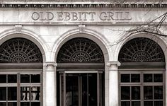 You just have to go to Old Ebbitt Grill if you visit Washington DC