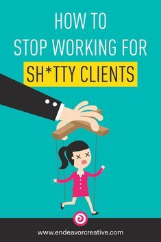 """Do you have a """"shitty client"""" story? Of course you do. Here's how to stop attracting the wrong people to your business. #smallbusiness #clientattraction #entrepreneur via @taughnee"""