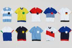 ALOYE AND WONG WONG FIFA WORLD CUP BRAZIL 2014 JERSEYS. http://www.selectism.com/2014/04/25/aloye-and-wong-wong-fifa-world-cup-brazil-2014-jerseys/