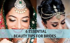 6 Essential Beauty Tips for Brides before Wedding