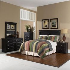 Cambridge Southampton Dark Pecan Twin Bed Headboard, Dresser, Mirror, Chest, Nightstand Bedroom Suite - The Home Depot Kids Bedroom Furniture, Home Decor Furniture, Home Decor Bedroom, Royal Furniture, Country Furniture, Modern Furniture, King Size Bedroom Suites, Queen Bedroom, 5 Piece Bedroom Set