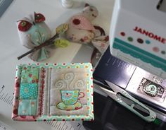 https://flic.kr/p/MzZHZG   Tiny Teacup Coaster - WIP   Blogged