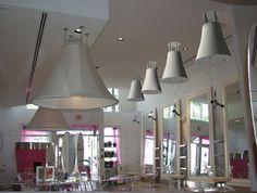 #25 Biguine South Beach Miami, FL Custom Light Platforms www.biguine.com www.freestylesystems.com #blowdryers #floatingdryers #dryers #salontools #modernhairdresser #modernsalon #freestyle #freestylist #freestylesystems
