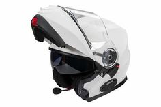 Bluetooth is integrated with the helmet, it offers much more effective to communicate with others. Bluetooth motorcycle helmets was invented. Bluetooth Motorcycle Helmet, Cool Motorcycle Helmets, Bicycle Helmet, Futuristic Helmet, Ready To Go, Full Face, Bike Life, Black Flats, Techno