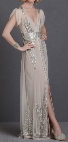 20s inspired gown