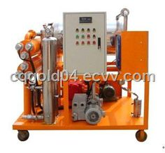 Vacuum Oil Purifier Special for Lubricating Oil (ZJC-R Series) (DYJC) - China Oil purifier, Gold