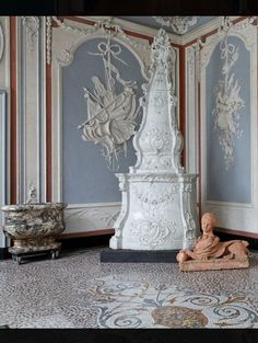 Chateau de Deulin interior detail , Belgium