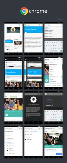 Chrome Material Design