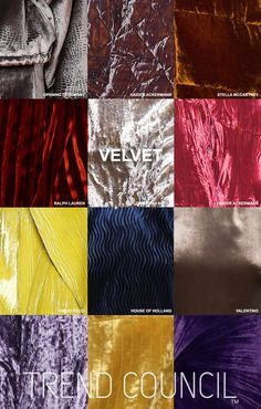 Trend Council: Key materials FW16 - Trends (#684388)