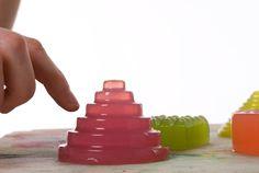 noisy jelly - la gelée musicale  / food design, design culinaire