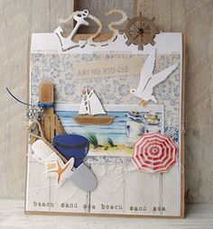 Marianne Design - Craftables - Tiny's Folding Dies - Nautic | Marianne Design | 123Scrapping
