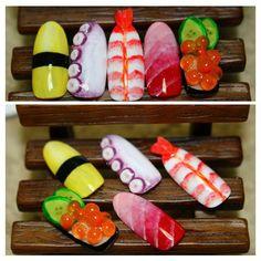 外国人に大人気!「お寿司ネイル」デザインまとめ!可愛いものから食品サンプル顔負けのものまで紹介します -page2 | Jocee